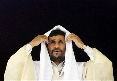 Ahmadinejad in drag.jpg