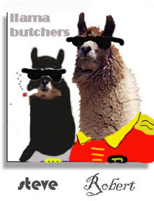 disturbing batman and llama.jpg
