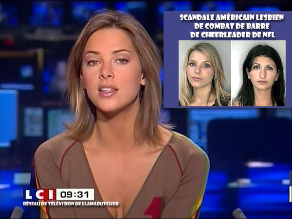 hot french news babe NFL lesbian cheerleader scandal.jpg